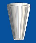 Deckenbefestiger Kegel mit Deckenplatte, M6i