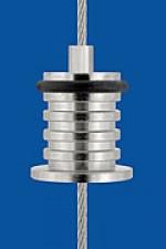Drahtseilhalter Typ 15 5N 10x1,5, mit O-Ring (für Regalböden)