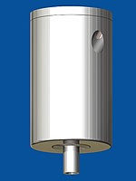Deckenbefestiger Typ15 ZW Zylinder mit Deckenplatte M6i