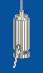 Drahtseilhalter Typ 15 ZW, Nut 3,0, ø12mm