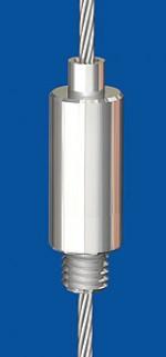 Drahtseilhalter  Typ 25 M8 o.R.