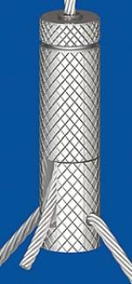 Drahtseilhalter Typ 30 VZW für Y - Abhängungen