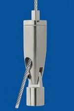 Drahtseilhalter Typ 12 ZW Gelenk, M4ix4