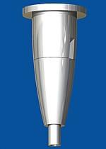 Deckenbefestiger Typ15 ZW Ellipse mit Deckenplatte M6i