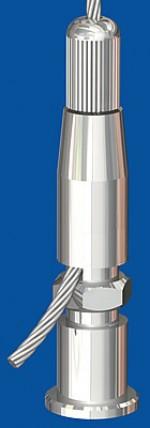 Drahtseilhalter Typ 25 Spannhalter rechts/links