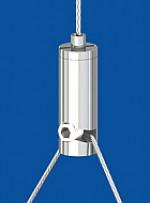 Drahtseilhalter Typ 12 ZW RS, mit Gewindestift  Für Y-Abhängungen