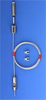 Set Typ 15M 10x6A, Drahtseil ø=1,5mm, mit Sromeinführung, Arbeitslast: 25kg