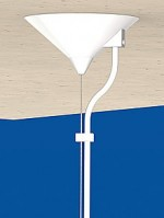 Universal Canopy Cone Ø 115x57, white  9003