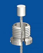 Quick screw cap M10x1 with slit 2,5mm