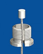 Quick screw cap M13x1 with slit 2,4mm