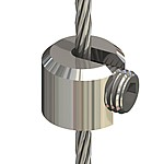 Stopper, Ng4, M8 for cable ø 3mm - 4mm