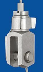 Drahtseilhalter Typ 18 Gabel 8x16