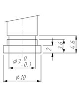 Holder type 12 N7x1,0