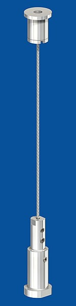 Spann-Set ohne Halter Seil-ø: 1,5mm