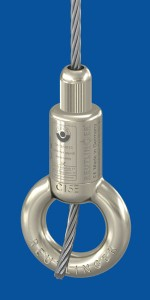 Holder type 50 SV III Integral ring, nickel-plated